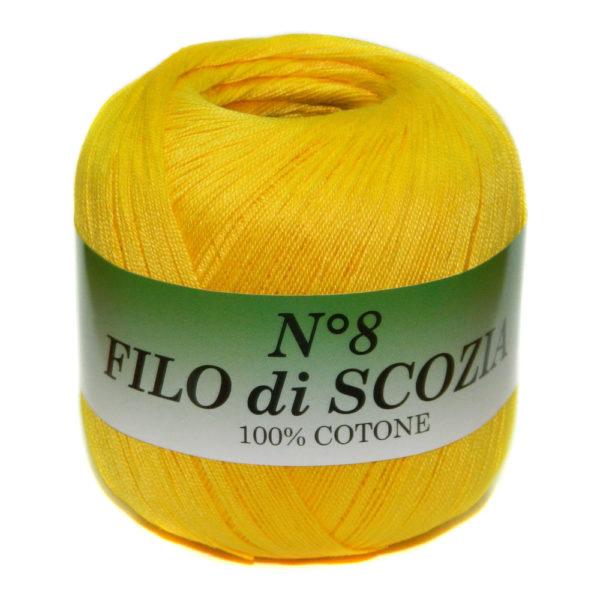 Filo di Scosia №8 Weltus - желтый 12