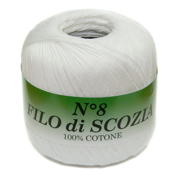Filo di Scosia №8 Weltus - белый 82