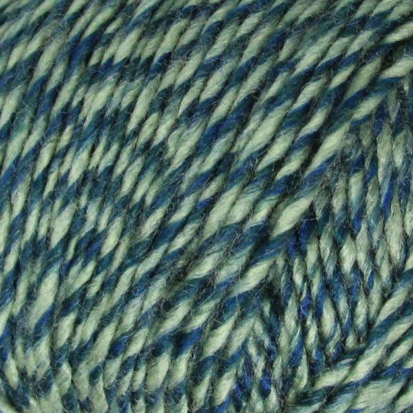 Рио Троицк - меланж сине-зеленый 3189