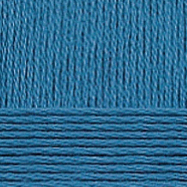 Хлопок натуральный Пехорка - морская волна 14