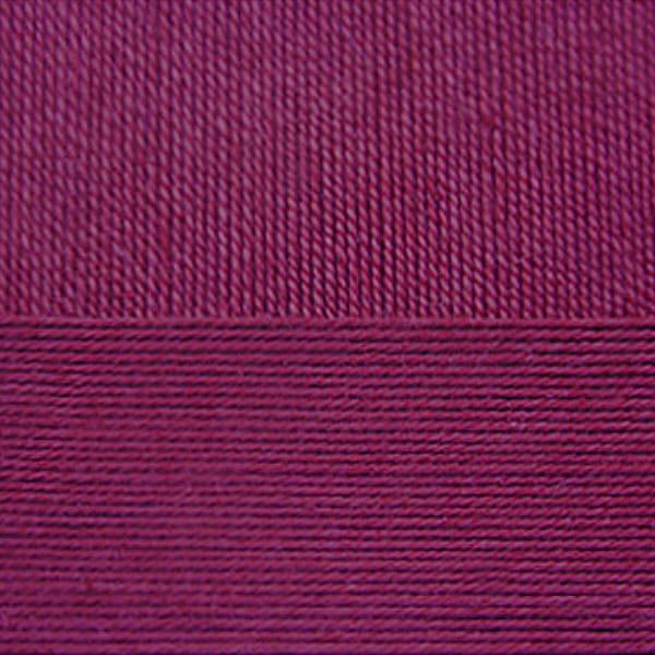 Цветное кружево Пехорка - бордо 07