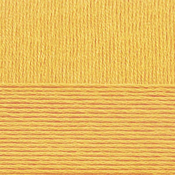 Хлопок натуральный Пехорка - желток 12