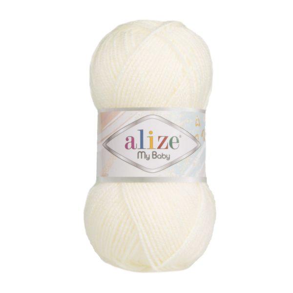 My Baby Alize - молочный 62