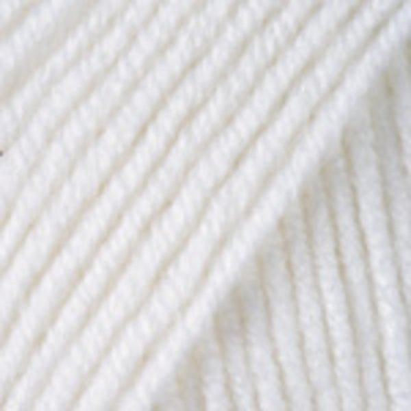 Merino De Luxe/50 YarnArt - белый 501