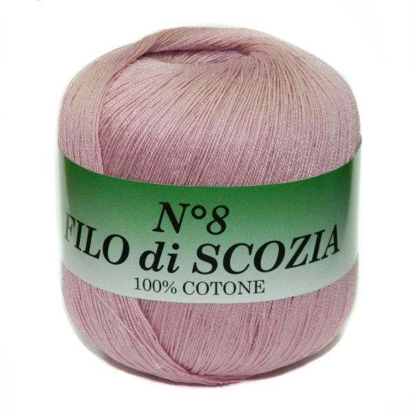 Filo di Scosia №8 Weltus - пыльная роза 1073