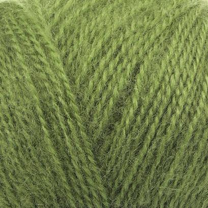 Angora Real 40 Alize - зеленый 485