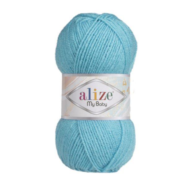 My Baby Alize - светло-бирюзовый 287