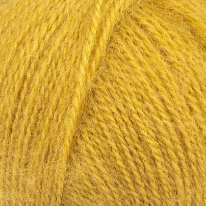Angora Real 40 Alize - тм.желтый 488