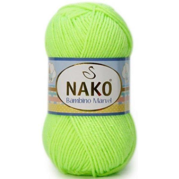 Bambino Marvel NAKO - неон зеленый 3304 (9007)
