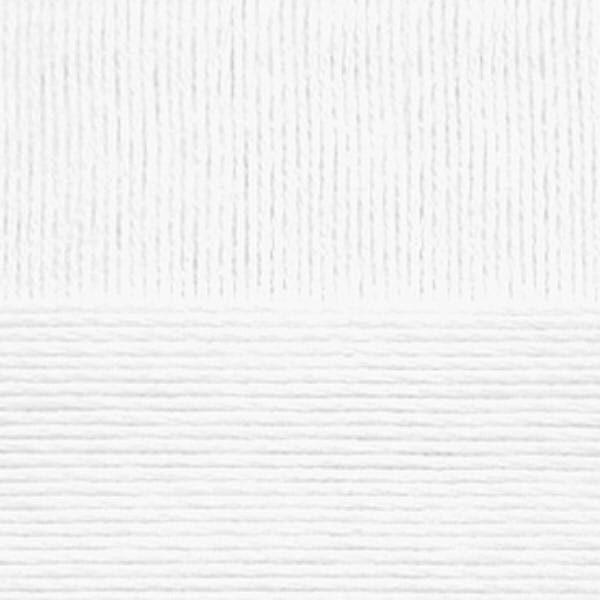 Детский хлопок Пехорка - белый 01