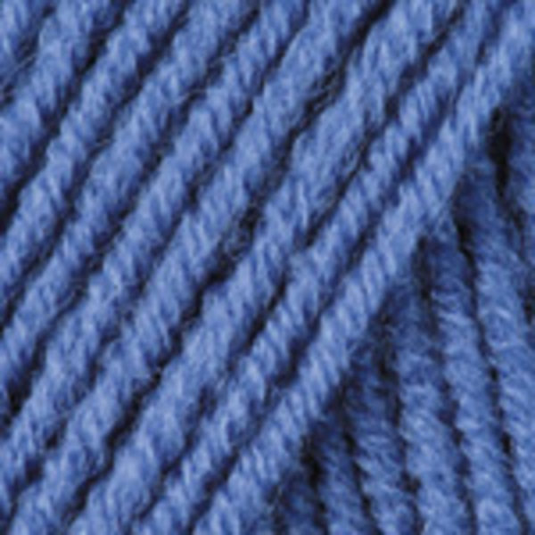 Merino De Luxe/50 YarnArt - синий 551