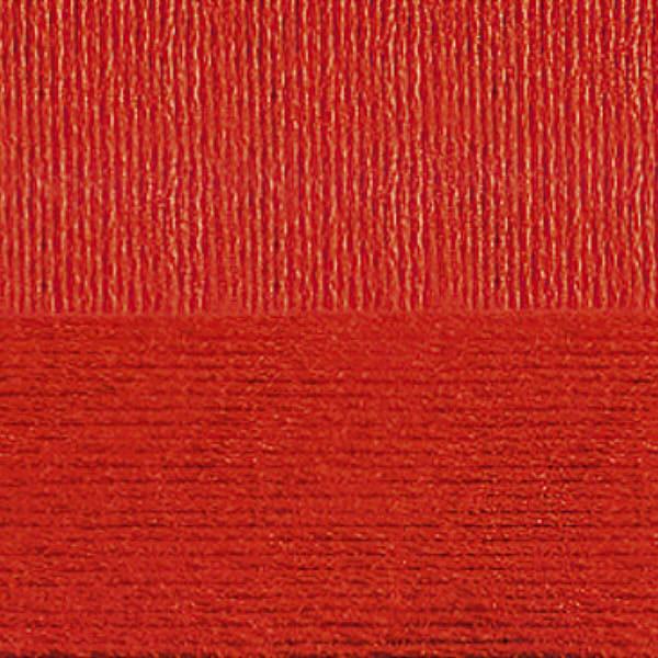 Вискоза натуральная Пехорка - красный 06