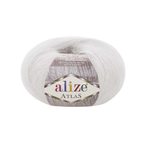 Atlas Alize - белый 55