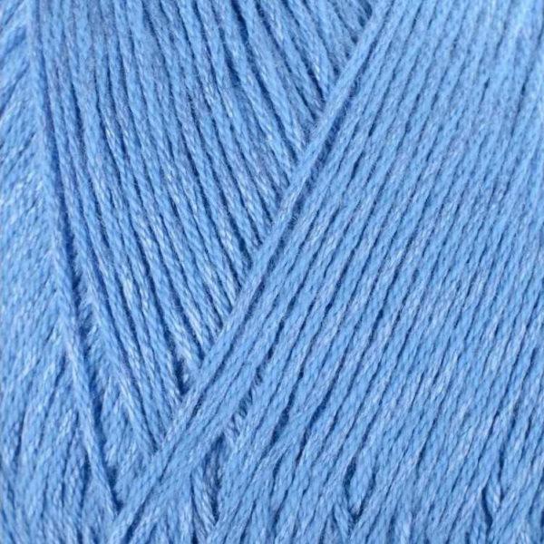 Вискоза натуральная Пехорка - т.голубой 15