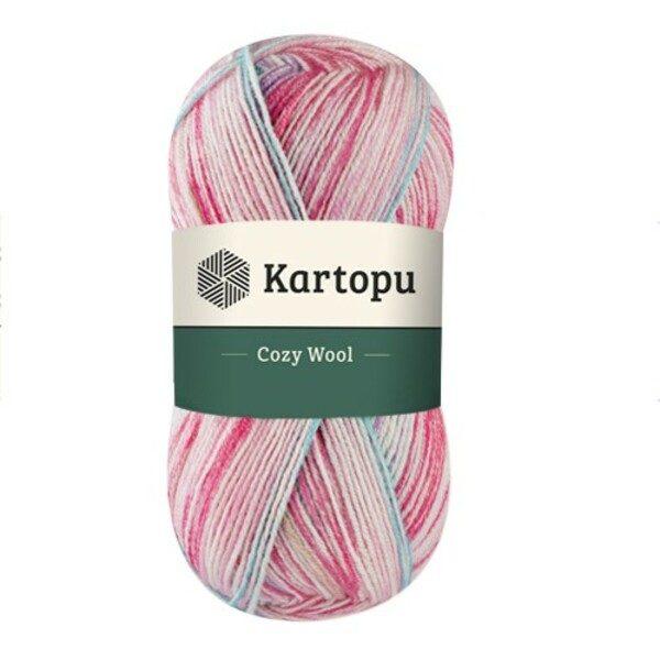 Cozy Wool Sport Prints KARTOPU - Н1908