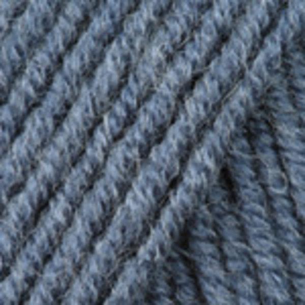 Merino De Luxe/50 YarnArt - серый джинс 3864