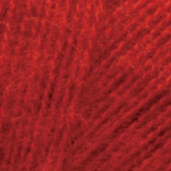 Angora Real 40 Alize - красный 56