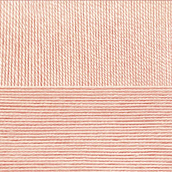 Цветное кружево Пехорка - персик 18