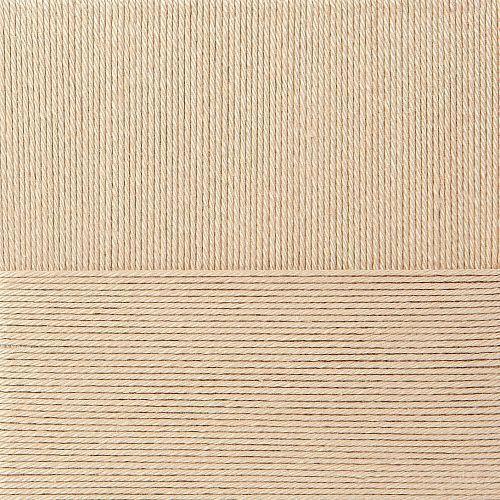 Классический хлопок Пехорка - песочный 124
