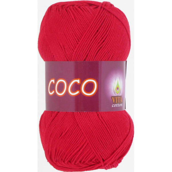 Coco VITA Cotton - красный 3856