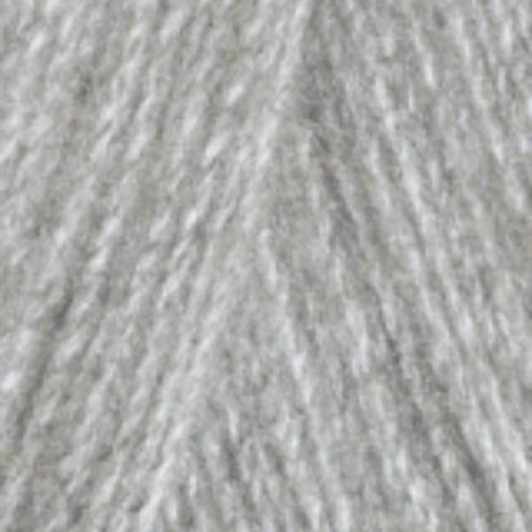 Angora Real 40 Alize - серый меланж 614
