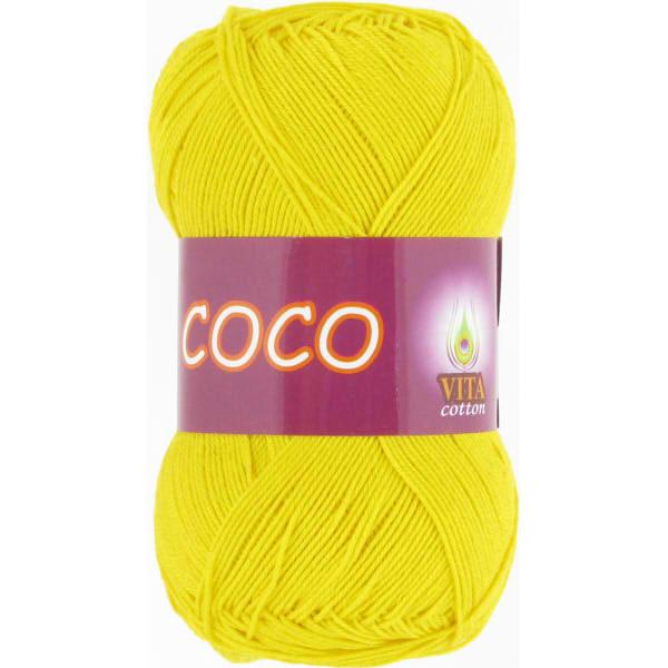 Coco VITA Cotton - ярк.желтый 4320
