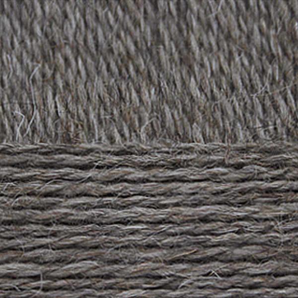 Овечья шерсть Пехорка - натур.т.серый 372