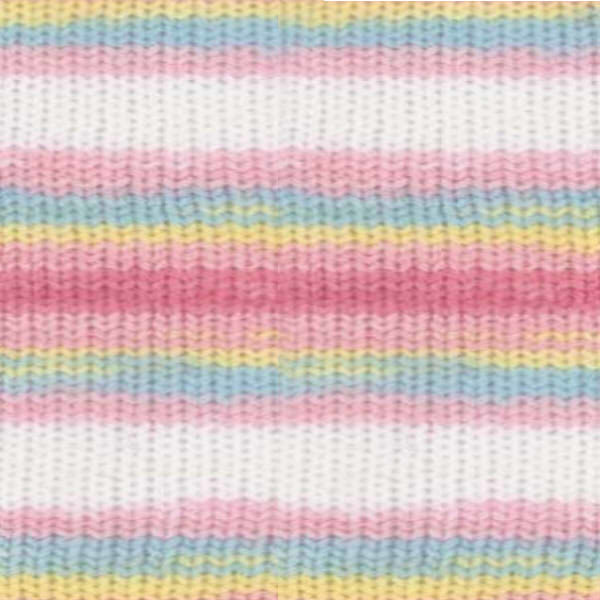 Sekerim Bebe batik Alize - бел/роз/гол/желтый 3045