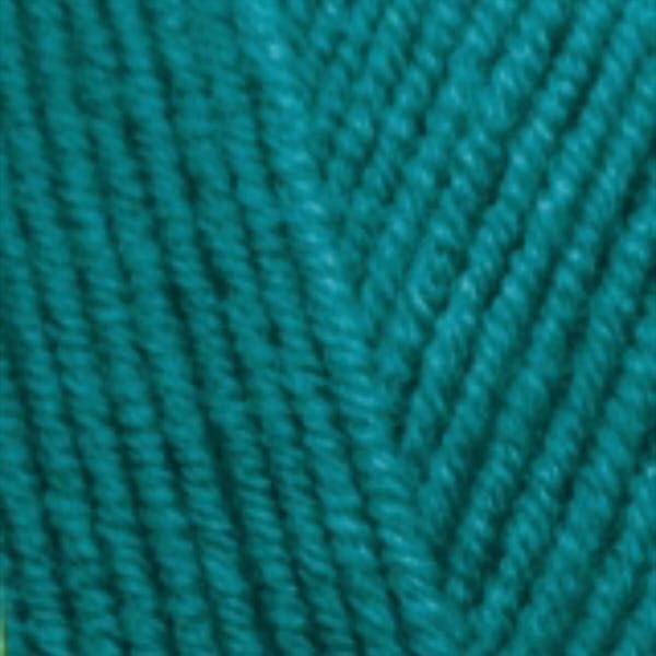 Lana Gold Alize - павлиновая зелень 640
