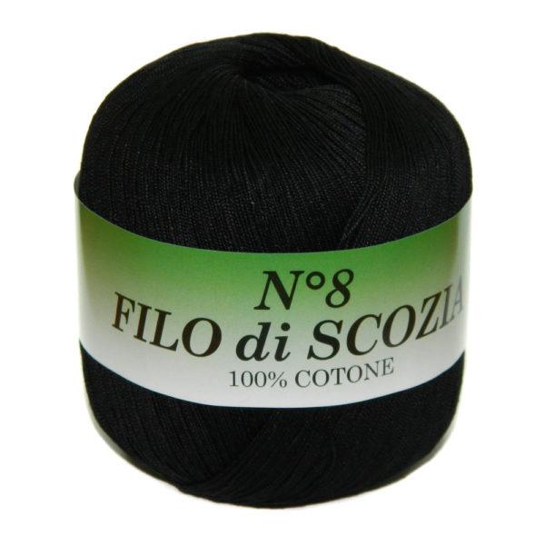 Filo di Scosia №8 Weltus - черный 72