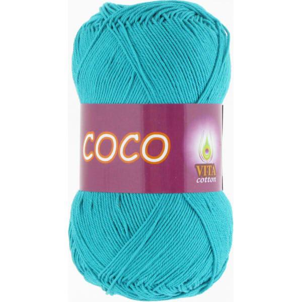 Coco VITA Cotton - тм.голубая бирюза 4315