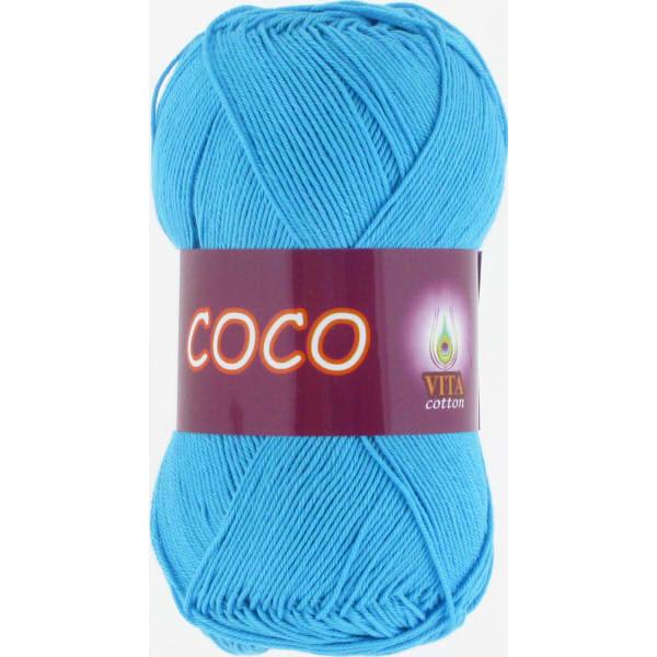 Coco VITA Cotton - голубая бирюза 3878