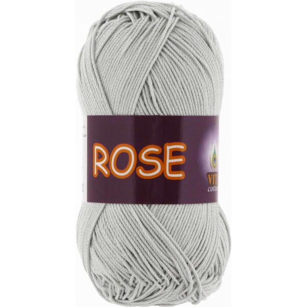Rose VITA Cotton - серебро 3939