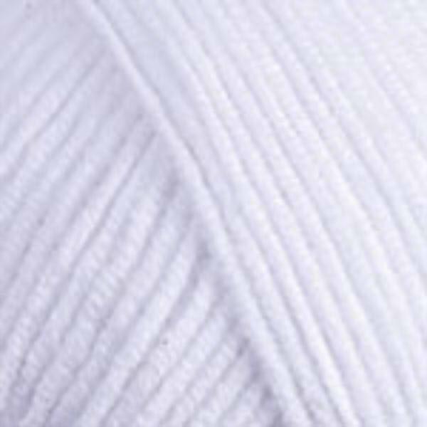 Jeans YarnArt - белоснежный 62