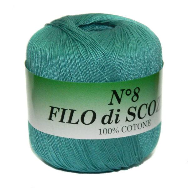 Filo di Scosia №8 Weltus - мор.бирюза 132