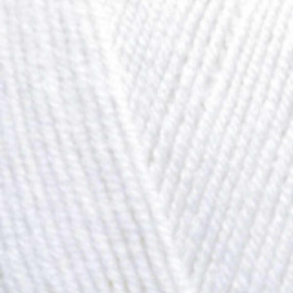 Lana Gold fine Alize - белый 55