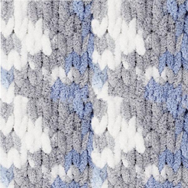 Puffy Color Alize - бел/серый/синий 6075