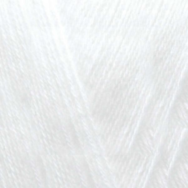 Angora Gold Alize - белый 55