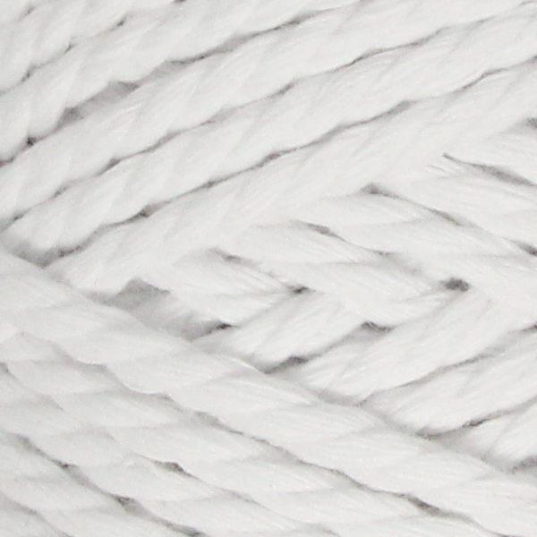 Macrame Rope 3мм YarnArt - белый 751