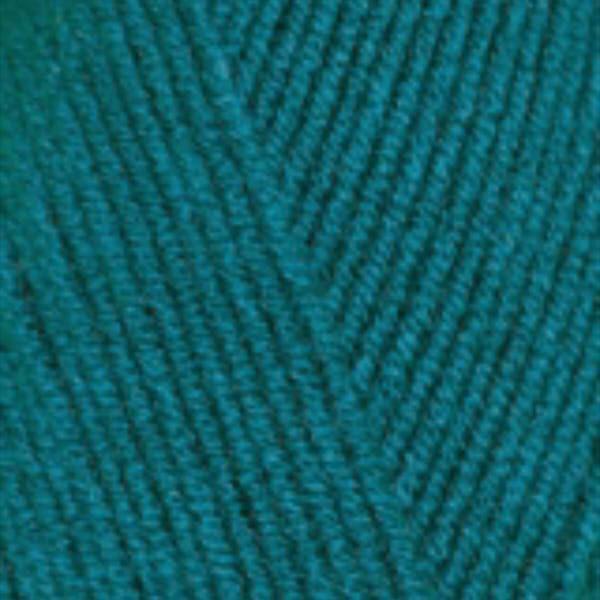 Lana Gold fine Alize - павлиновая зелень 640