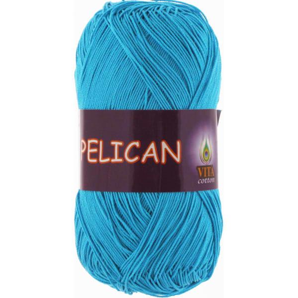 Pelican VITA Cotton - голубая бирюза 3981