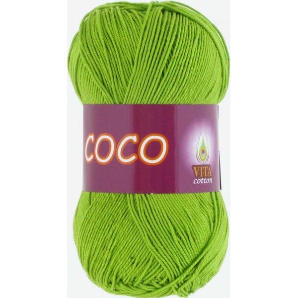 Coco VITA Cotton - ярк.зеленый 3861