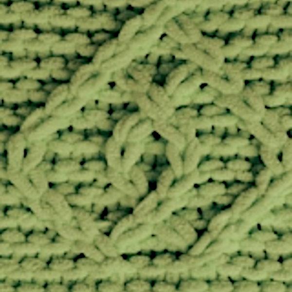 Puffy Fine Alize - зеленая черепаха 485