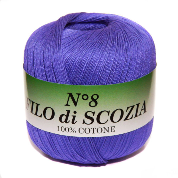 Filo di Scosia №8 Weltus - синий 138