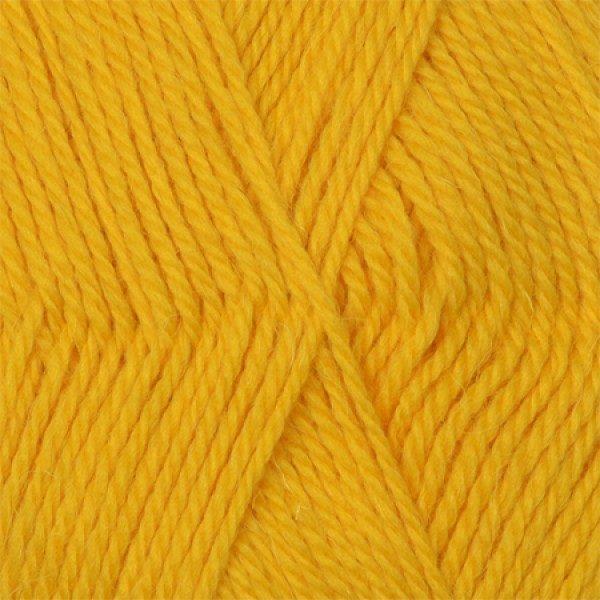 Аргентинская шерсть Камтекс - желтый 104