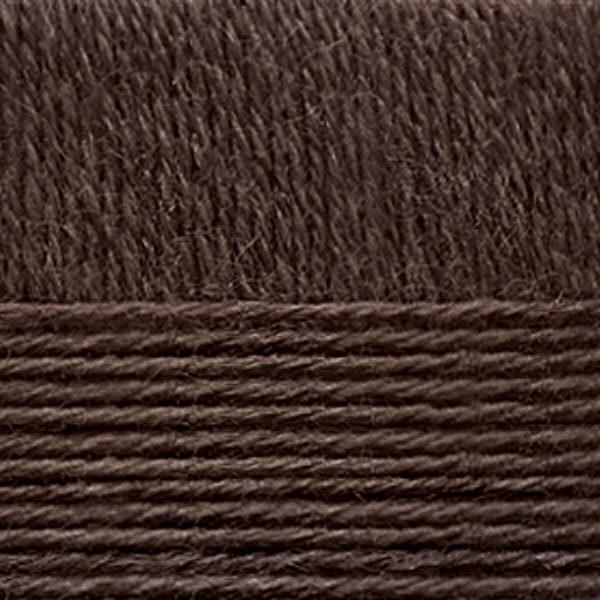 Перуанская альпака Пехорка - коричневый 251