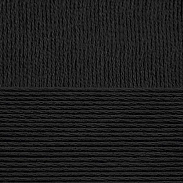 Детский хлопок Пехорка - черный 02