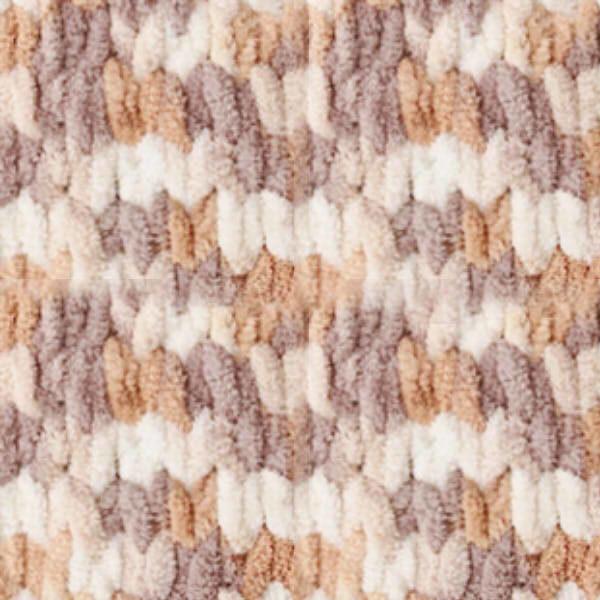 Puffy Color Alize - коричневый меланж 5926