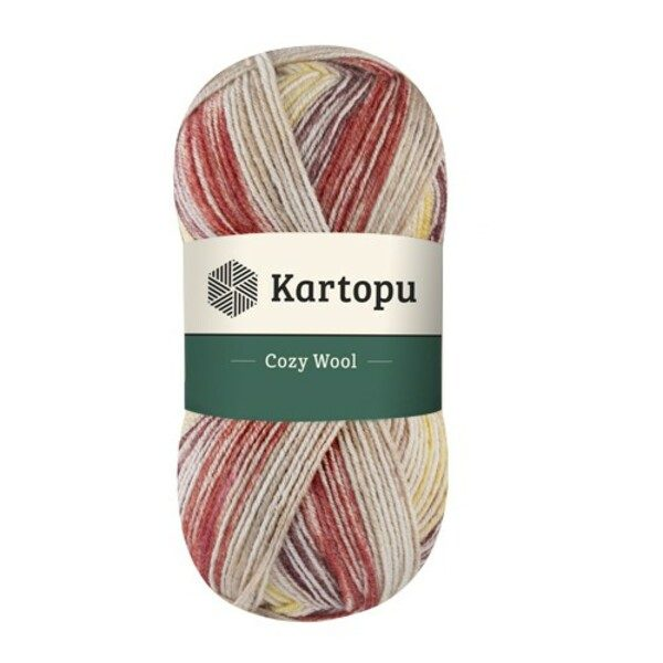 Cozy Wool Sport Prints KARTOPU - Н1910