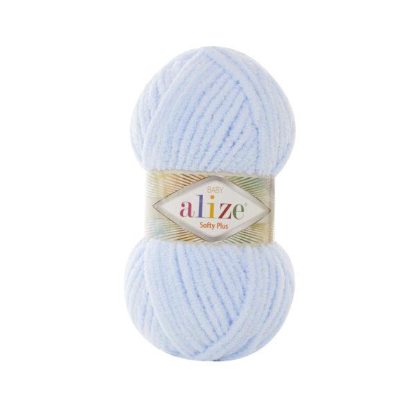 Softy Plus Alize - св.голубой 183